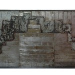 BMS 5 tryptique acier 51-27-8 cm 2018 - Artiste Plasticienne Noiseau & Val de Marne 94