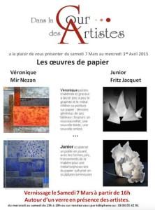 affiche site basse def - Artiste Plasticienne Noiseau & Val de Marne 94
