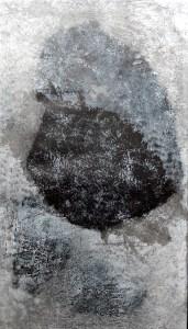 gg2 6 sur 112 cm monotype - Artiste Plasticienne Noiseau & Val de Marne 94