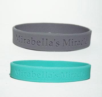 Mirabella's Miracle Rubber Bracelet