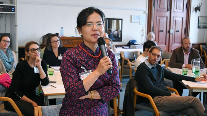Jing Xu of Peking University at Salzburg Global Seminar