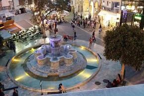 lions square heraklion crete