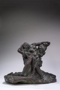 Auguste Rodin, L'éternel printemps, 1884_Bronze, 64,5 x 58 x 44,5 cm © musée Rodin, Paris (photo Christian Baraja)