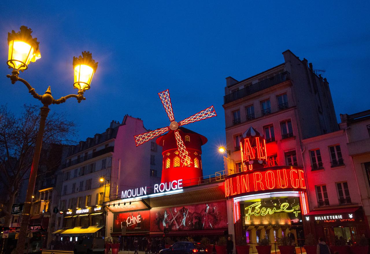 Dans les coulisses du Moulin Rouge !