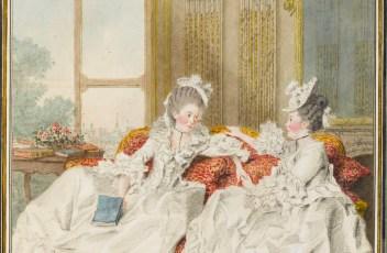 La comtesse de Blot, soeur du comte d'Ennery, et la marquise de Barbantane
