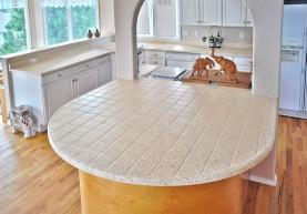 tile countertop miracle method