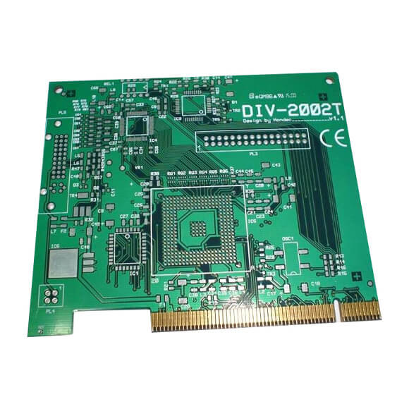 China Multilayer FR4 PCB Board with Golden Finger Supplier