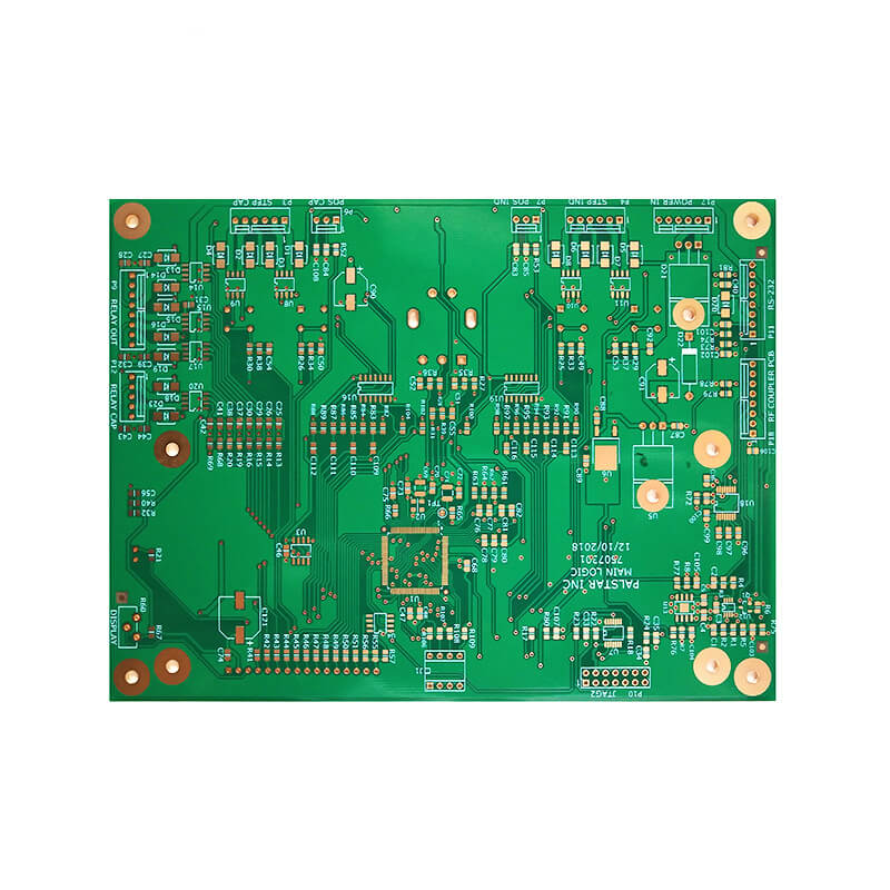 High Density PCB Golden Finger Electronic Circuit Board