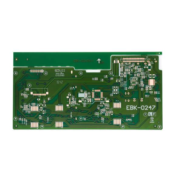 ODM Single Layer Through Hole Telephone Remote Control PCB-01