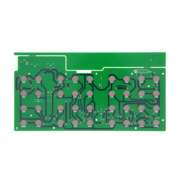 ODM Single Layer Through Hole Telephone Remote Control PCB-02