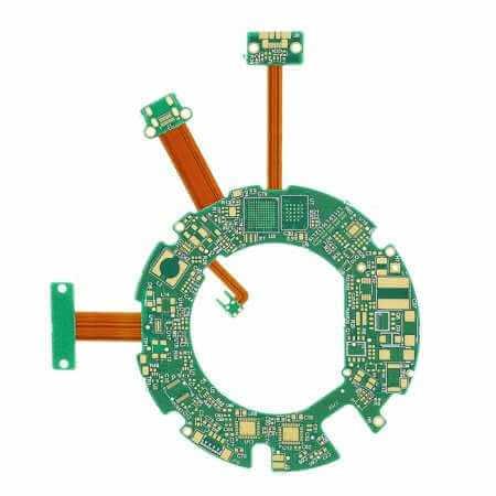 2020 Best China 4 Layers HDI Rigid-flex PCBs (Flexi pcbs circuit manufacturer)