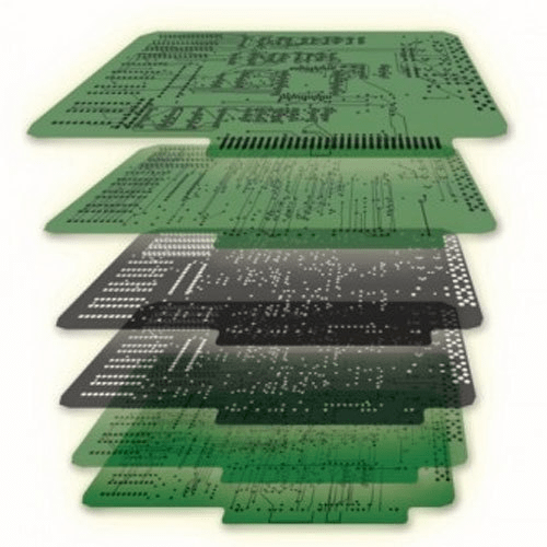 6-layer PCB manufacturing