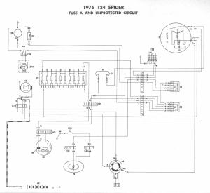 1976 Fiat Spider Wiring Diagrams