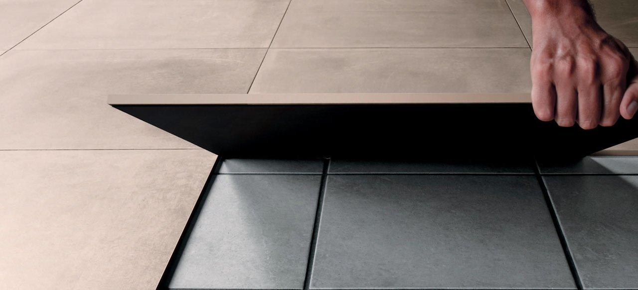 how to lay ceramic flooring mirage