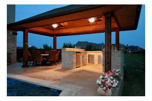 Outdoor Living   Mirage Custom Pools   Lewisville, TX on Custom Outdoor Living id=42632