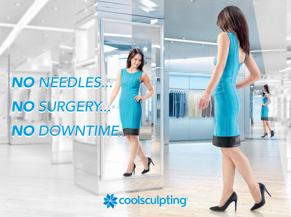 No needles, no surgery, no downtime with CoolSculpting in Norfolk, Nebraska