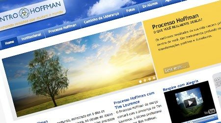 Site otimizado para Centro Hoffman