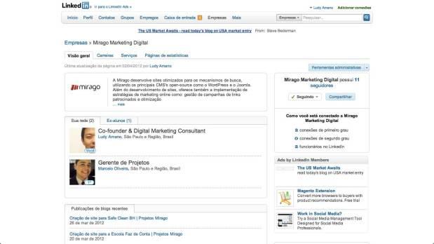Como editar as informações da minha empresa no Linkedin
