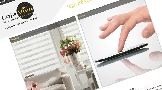 Otimização de site em Joomla para Loja Viva