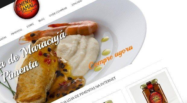 Criação de E-commerce para Pimenta do Jamal