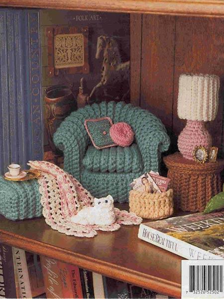 Все самое интересное о дизайне интерьера - Вязаная мебель ...