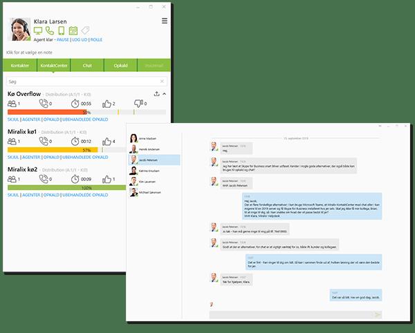 Integrer Miralix' KontaktCenter i din NEC kommunikationsplatform