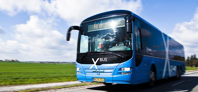 X-bus fra Nordjyllands Trafikselskab