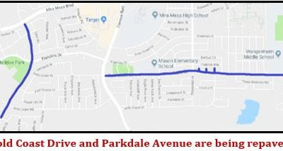 Parkdale and Gold Coast Repaving