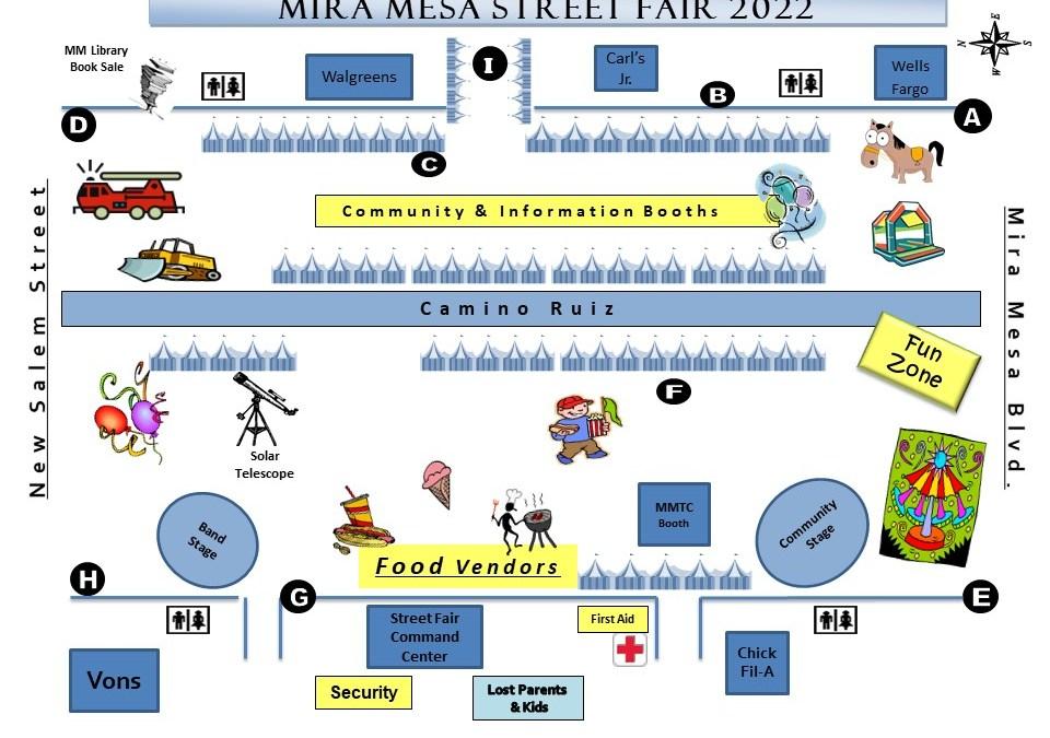 Mira Mesa Street Fair Postponed to 2022
