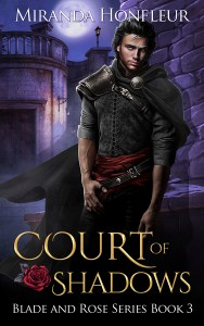 Book Cover: Court of Shadows (Blade and Rose #3)