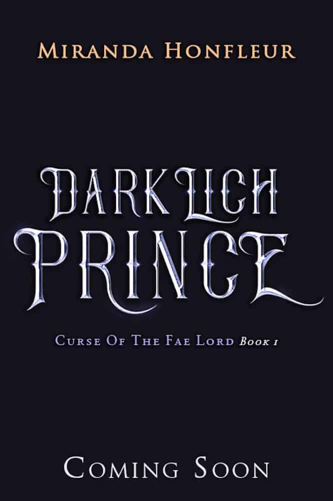 Book Cover: Dark Lich Prince (Curse of the Fae Lord #1)
