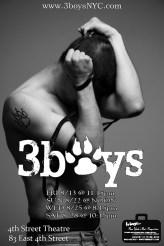 postcard, 3boys, male, man, new york fringe