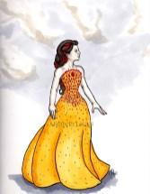 Katniss Everdeen Hunger Games Interview Dress
