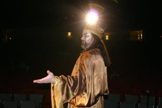 JSSC, jesus christ super star, theatrical makeup, caiaphas, tribal, Egyptian