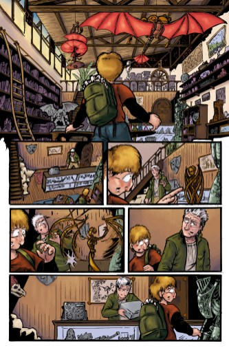 colors, comics, colorist, comic, arch enemy, color, photoshop, sequential