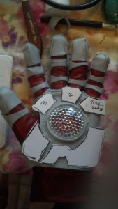 wonderflex, iron man cosplay, glove, pattern
