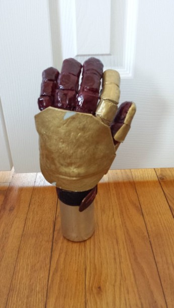 iron man armor cosplay glove