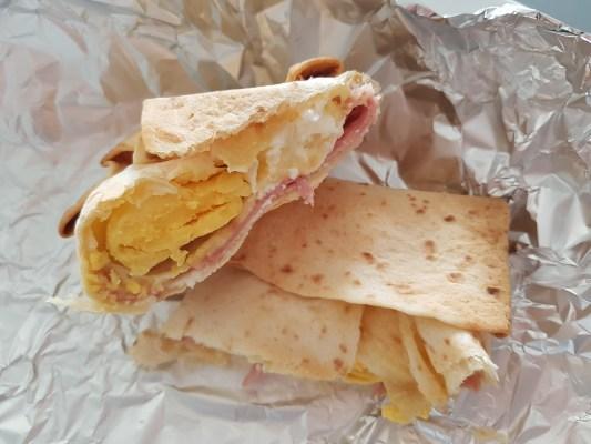 ontbijt wrap