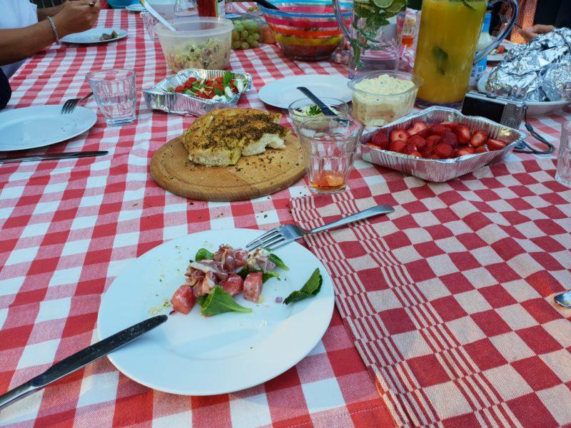 zomerse barbecue
