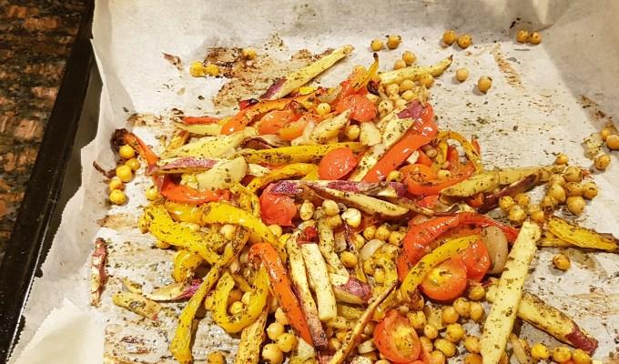 groenten uit de oven