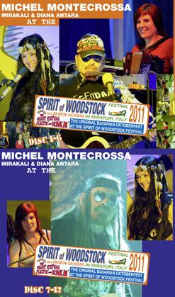 Audio-CD Boxes Spirit of Woodstock Festival 2011