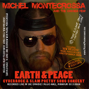 Double CD 'Earth & Peace' - Concert of Michel Montecrossa's Peace & Climate Change Concert Tour