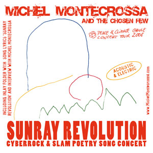 Double CD 'Sunray Revolution' - Concert of Michel Montecrossa's Peace & Climate Change Concert Tour