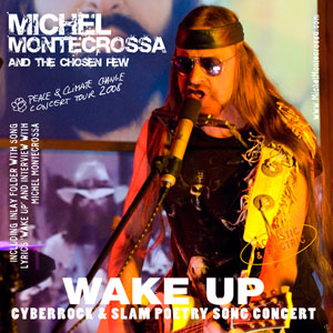 Double CD 'Wake Up' - Concert of Michel Montecrossa's Peace & Climate Change Concert Tour