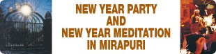 Mirapuri New Year Party and Meditation