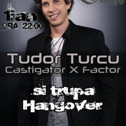 Tudor Turcu canta cu Hangover la Joben Club and Lounge