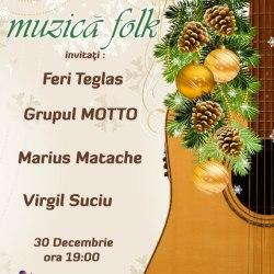 Seara de muzica folk la Hanul Greweln