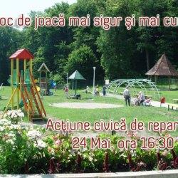 Campania de refacere a parcului de la Hanul Greweln