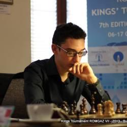 Italianul Caruana Fabiano a castigat Turneul Regilor Romgaz 2013