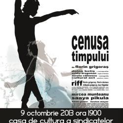 """""""Cenusa timpului"""" de Florin Grigoras, din nou pe scena din Sibiu"""